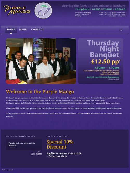 New purple mango website launched