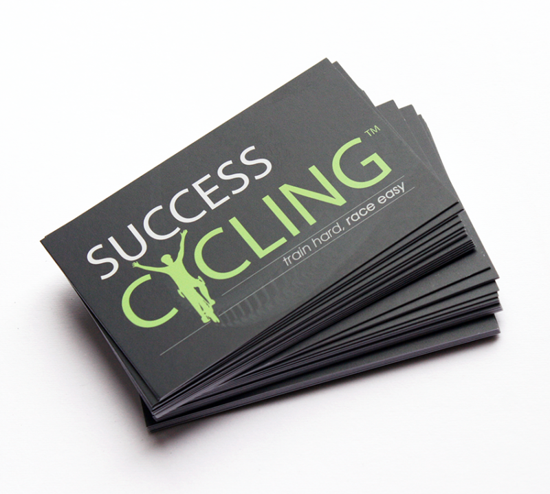 Business Cards Success Cycling