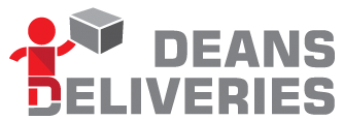 New Branding for Deans Deliveries