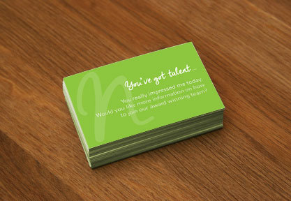 Natalie Heeley Business Cards