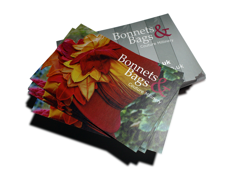 Bonnets and Bags Business Cards