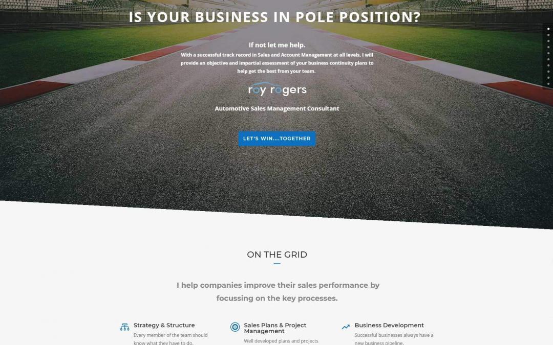 Sales Consultant Website