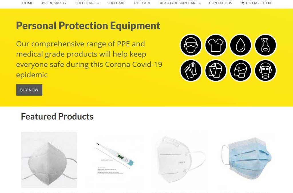 Web Design Project: e-commerce website